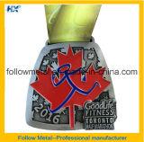 Медаль 2016 марафона Торонто половинное