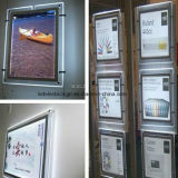 높은 End UV Printing를 가진 공장 High Quality Super Slim Crystal Advertizing Light Box