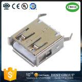 Eine Zeile Typ USB-Verbinder-Kontaktbuchse