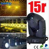 Luz profissional do feixe 15r com cabeça movente 330W