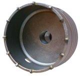 Foret électrique creux de Hamme avec la diverse partie lisse, scies de trou