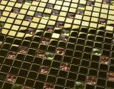 Плитка мозаики нержавеющей стали плитки мозаики популярного яркия блеска кристаллический смешанная (FYMF1014)