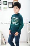 カレンの秋の勾配カラーワシの涼しい男の子のセーター