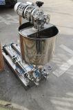 Pneumatische semi-Auto Van het Roestvrij staal frisdrank het Vullen van het Water Machine