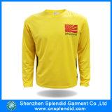 人の多ジャージーによって印刷される単一カラー長い袖のTシャツ