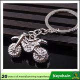 열쇠 고리 제조자 금속 기관자전차 열쇠 고리