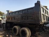 6*4-LHD-Drive Sleeper/AC-Attached 2007~2010 350HP Rated-15ton Isuzu Avant-Soulevant le camion à benne basculante utilisé