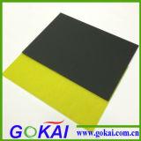 Schwarzes Acrylblatt mit Matt oder glatter Oberfläche