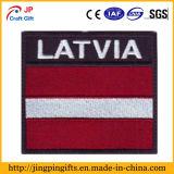 Divisas tejidas tela de encargo del bordado del indicador