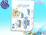 調節可能な魔法テープが付いている使い捨て可能な赤ん坊のおむつ