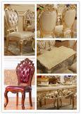 Tabela de madeira com jantar da cadeira para a mobília da sala de jantar (681)