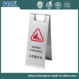 Stand d'avertissement d'affiche de support de trame de panneau de signe de stationnement en métal de Matt