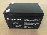 batterie d'acide de plomb de 12V 12ah AGM pour la garantie, UPS, protecteur de saut de pression