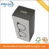 Оптовые изготовленный на заказ солнечные очки упаковывая бумажные коробки (QYZ326)