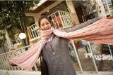 Hotsale 2016 женщин подарков больших женщин сплошного цвета тавра шарфов шумоглушителя зимы шарфа безграничности шарф более толщиных