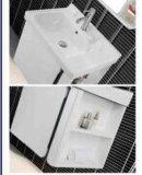 Vanità semplice moderna della stanza da bagno di memoria con la mensola dello specchio