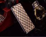 Lambskinと指名されるiPhone 6s/6plus (XSDD-008)のための電気めっきTPUの携帯電話の箱