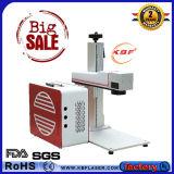 máquina do marcador do laser da fibra do metal de 20W 30W