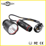 Nachladbare 10W Xm-L T6 Hight helle LED Aluminiumtaschenlampe (NK-33)