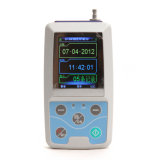 Free 소프트웨어 Stella를 가진 색깔 Big LCD Ambulatory Blood Pressure Monitor NIBP Holter