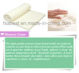 Matelas 100% de mémoire de tissu de coton ABS-1801