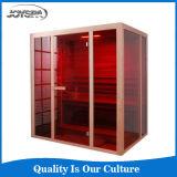 Bonne salle en céramique d'intérieur de luxe I-1815 de sauna d'infrarouge lointain du réchauffeur 2015