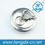 70mm Round Stainless Steel Disc Padlock (YH1256)
