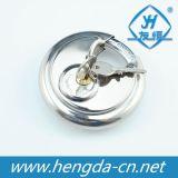 cadeado redondo do disco do aço inoxidável de 70mm (YH1256)