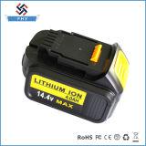 Батарея електричюеского инструмента Li-иона замены длинной жизни Dcb140 Dewalt 14.4 v 4.0 Ah