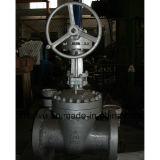 Valvola dell'estremità della galleria della flangia dell'attrezzo di vite senza fine del acciaio al carbonio del getto API600