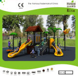 Patio al aire libre de los niños temáticos de la casa de árbol de Kaiqi para las escuelas (KQ10056A)