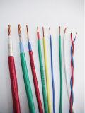 El silicón aisló el cable de transmisión forrado PVC
