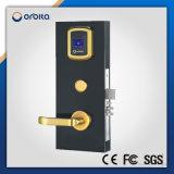Fechamento de porta esperto de Digitas do fechamento de porta do hotel da estrela de Orbita