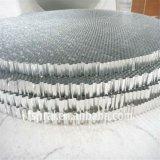 Le nid d'abeilles en aluminium a fait le dessus de table ronde (HR704)