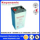 batterie 5-Warranty pour la batterie 12V 100ah de la batterie 12V 100ah AGM de télécommunication