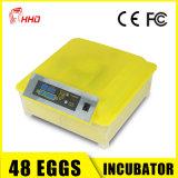 Le canard automatique approuvé de cailles de poulet de hachure de la CE Eggs des incubateurs