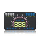 """5.8 """" het Systeem van de Waarschuwing van de Snelheid OBD II de Hoofd omhooggaande Vertoning van de Auto"""