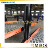 Подъем стоянкы автомобилей 2 столбов автоматический для подъема гаража стоянкы автомобилей места для стоянки