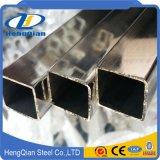 304 316 laminés à chaud pipe soudée d'acier inoxydable de 430 rectangles