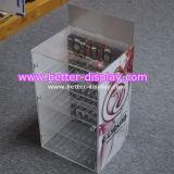 Het duidelijke Acryl Organische Kabinet van de Vertoning van de Sigaret van het Glas