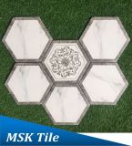 Hexagon-polare Strahl-Porzellan Wall&Floor Fliese