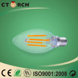 Bulbo 2W de la vela del filamento LED