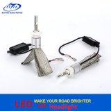 Jogo 40W 4800lm 6000k da conversão do farol do diodo emissor de luz do carro do poder superior H7 para o carro/caminhão