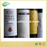 Papierwein-Kennsatz in selbstklebendem (CKT-LA-367)