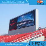 Via esterna di P16 DIP346 che si leva in piedi il tabellone per le affissioni dello schermo del LED per la pubblicità dell'esposizione