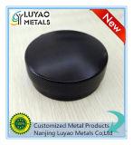 Soem-hohe Präzisions-Aluminiumteile/kundenspezifischer Aluminium CNC, der mit schwarzes Puder-Beschichtung maschinell bearbeitet