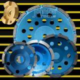 """roue simple de cuvette du diamant 4 """" - 7 """" pour la pierre avec la bonne qualité"""