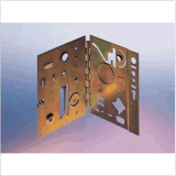 OEM 가구 기계에 있는 부분을 각인하는 금관 악기 청동색 도금 금속