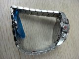 Reloj de manera con el reloj barato confiable del acero inoxidable de las ventas al por mayor del OEM
