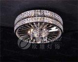 ステンレス鋼の吊り下げ式の照明贅沢な水晶シャンデリアの天井のシャンデリアOm8916